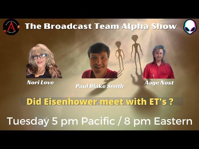 Did Eisenhower meet with ET's ?