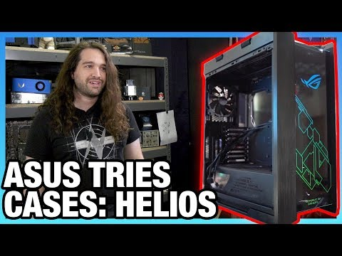ASUS ROG Strix Helios Case Review: $280 First Try