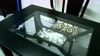 Comedor en madera Veneciano - 4 puestos - color negro - Silla Marsella