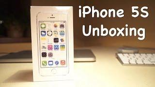 Распаковка iPhone 5S