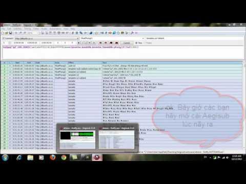 CĐ Thực Hành FPT- binhpvps01370 - hướng dẩn chèn effect vào aegisub