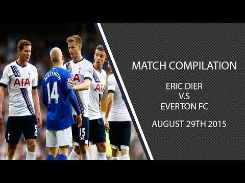 Eric Dier vs Everton- 29/08/15 (HD)