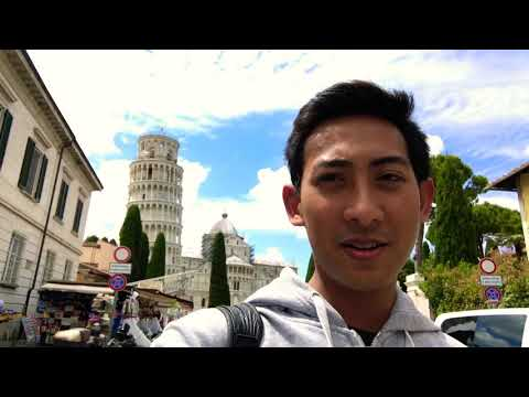 La Spezia - Italy : One day trip to Leaning Pisa Tower 2017