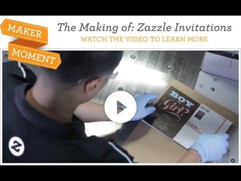 Maker moment zazzle invitations youtube maker moment zazzle invitations stopboris Gallery