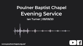 Evening Service 9th September | Ian Turner