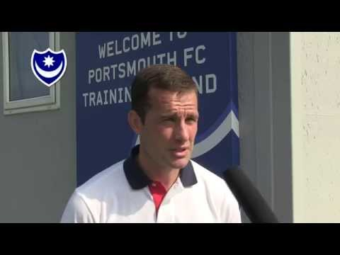 Michael Doyle signs for Pompey