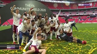 FULL trophy presentation as Arsenal win their 16th Community Shield | Community Shield 2020 Moments
