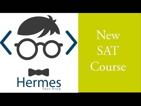 New SAT English Course: Practice Test 2 Reading 1