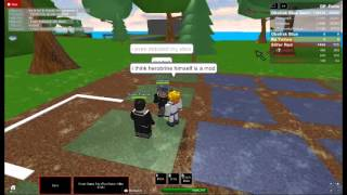 Roblox talking about Herobrine!
