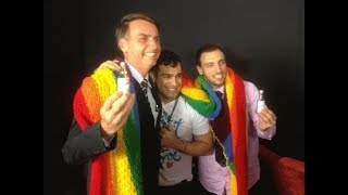 O que os gays pensam sobre Jair Bolsonaro?