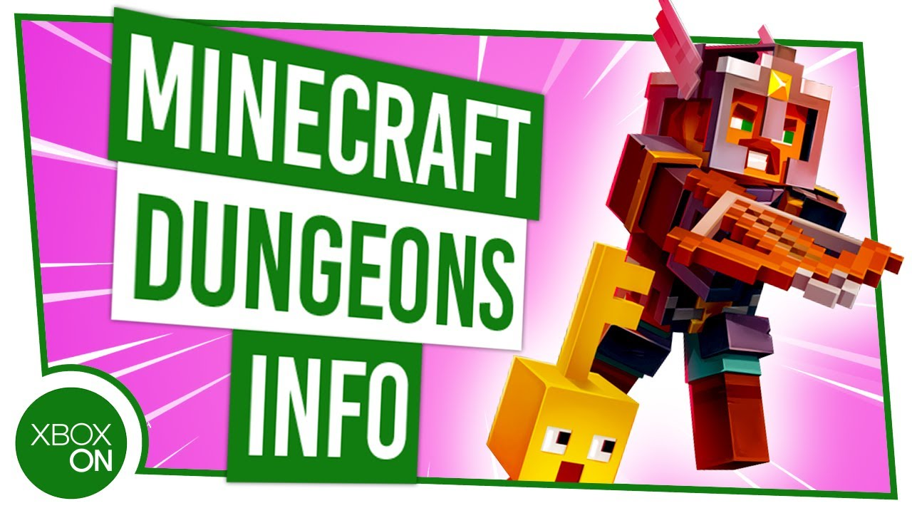 Minecraft Dungeons gameplay shows off boss battles and new areas