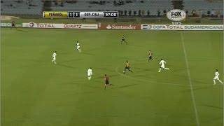 Peñarol 2 - 2 Deportivo Cali Copa Sudamericana 2014