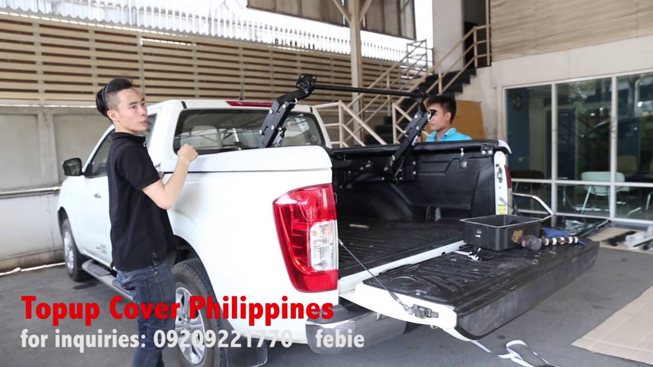Topup Cover For Nissan Np300 Youtube