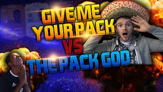 WOOOW GIVE ME YOUR PACK vs THE PACK GOD - FUT UNITED SPECAL PACKS !! FIFA 15 PACK OPENING