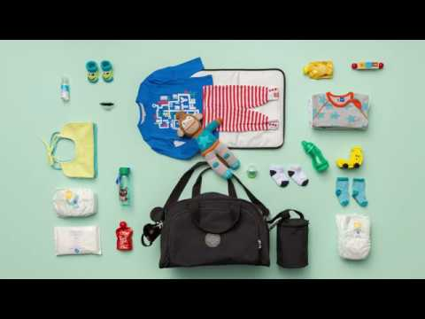Kipling Baby Bag Stop Motion Animation