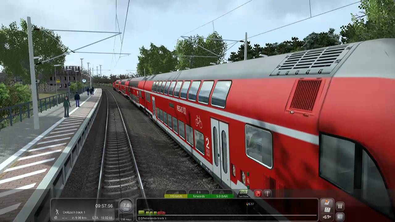 train simulator 2016 berlin leipzig youtube. Black Bedroom Furniture Sets. Home Design Ideas
