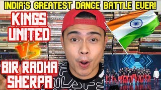 Filipino Dancer Reacts to BIR RADHA SHERPA vs KINGS UNITED | Dance Battle