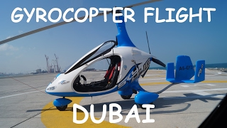 Skydive Dubai Gyrocopter flight (Feb 2016)
