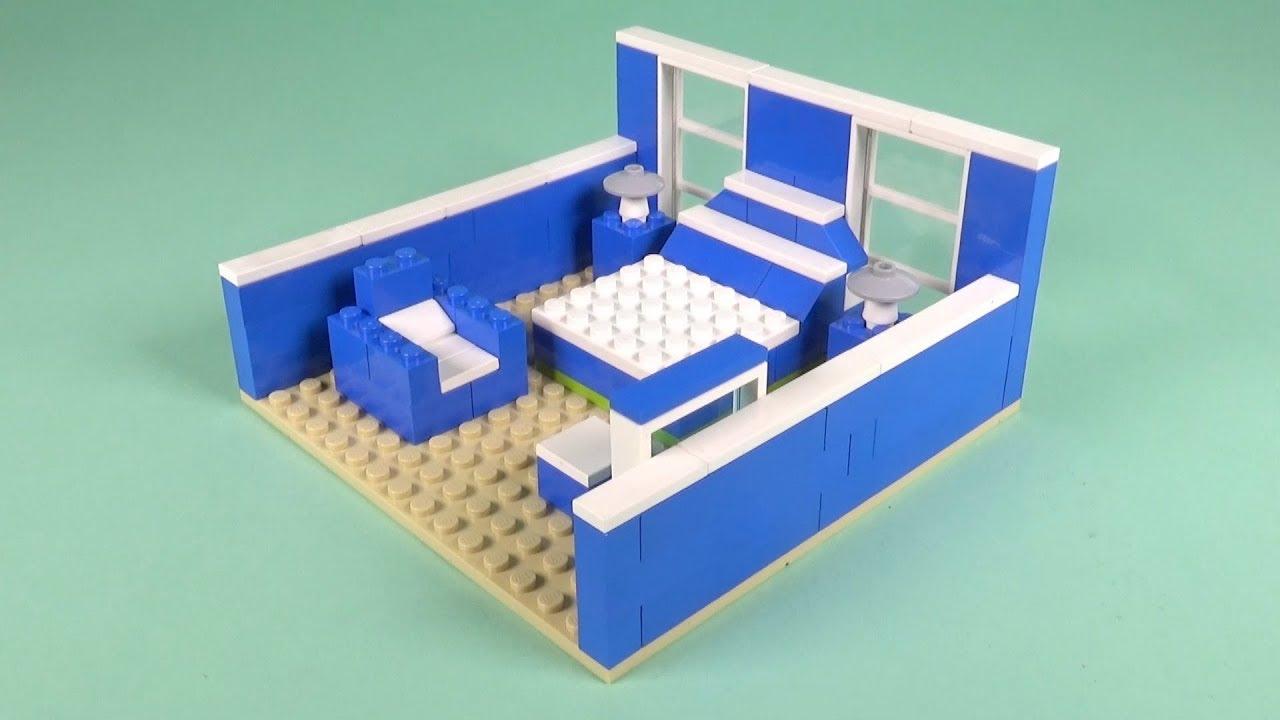 Lego Bedroom 004 Building Instructions Lego Bricks How