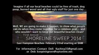 Shoreline Sweep 2014
