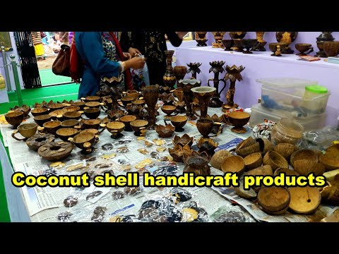 Coconut shell handicraft products manufacturers in india