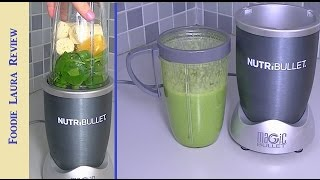 Nutribullet Review & Green Smoothie Recipe