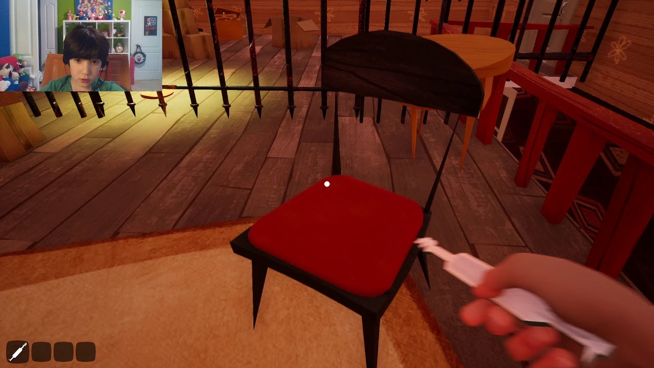 Hello neighbor Beta 2 Getting out of bounds in new game