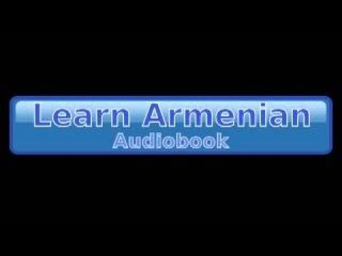 Learn Armenian Audiobook