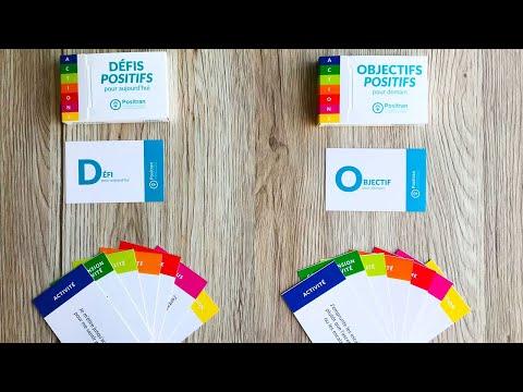 Utilisation de l'outil Défis et Objectifs Positifs