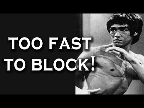 Thumbnail: Bruce Lee Literally Punched Too Fast To Block (Unstoppable Punch)