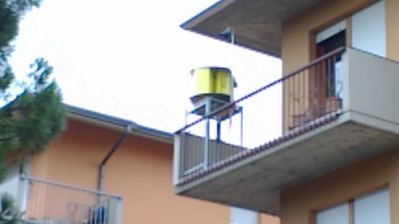 WEM-VA, Generatore eolico ad asse verticale uso urbano. - YouTube