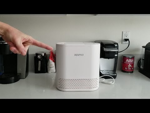 RENPHO Air Purifier For Allergies And Pets, Air Purifier For Bedroom With True HEPA Filter!
