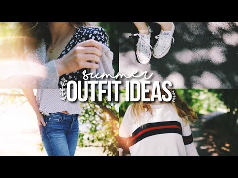 SUMMER OUTFIT IDEAS 2017! // OOTW (June)