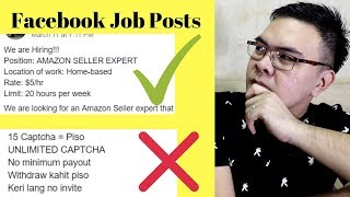 Paano mag hanap ng Legit Online Jobs sa Facebook Groups - Earn $600+ / month  / NO NETWORKING