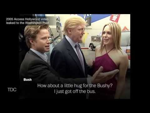 Trump: Full Leaked Tape Recording of Conversation with Donald Trump & Billy Bush - Audio Video Leak