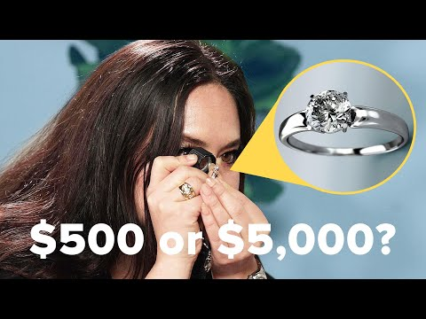 Jewelry Experts Guess The Cost Of Diamond Engagement Rings