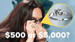 Jewelry Experts Guess The Cost Of Diamond Engagement Rings YouTube Videos