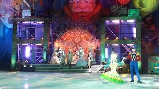 """Фрагмент ледового шоу """"Щелкунчик и мышиный король"""""""