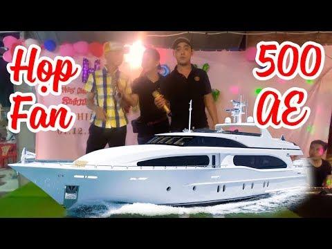 Ku Vàng Họp Fan Nhạc Chế 500 Anh Em Tại Du Thuyền CẦN THƠ
