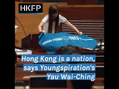 HKFP Interview: Hong Kong is a nation, says Youngspiration's Yau Wai-ching