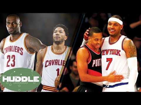 Derrick Rose to the Cavs? Carmelo Anthony to the Blazers? -The Huddle