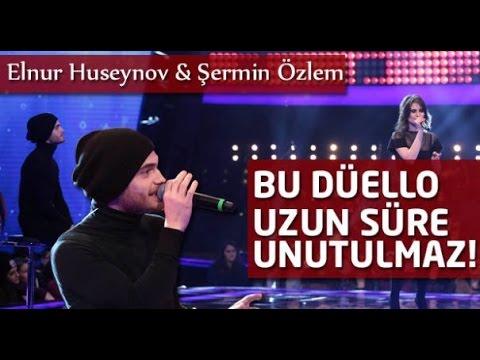 O Ses Türkiye - Elnur Hüseynov Bire Bir Düello