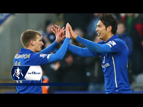 Ulloa goal - Leicester 1-0 Newcastle - FA Cup Third Round   Goals & Highlights