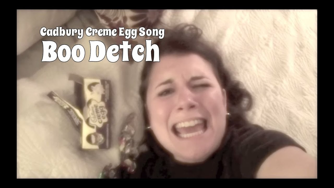 Woman Freaks Out About Cadbury Creme Egg Announcement Writes Song