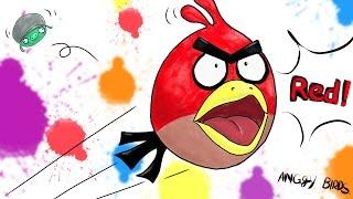 앵그리버드 - 레드 그리기  Angry Bird Red drawing  라임튜브 LimeTube