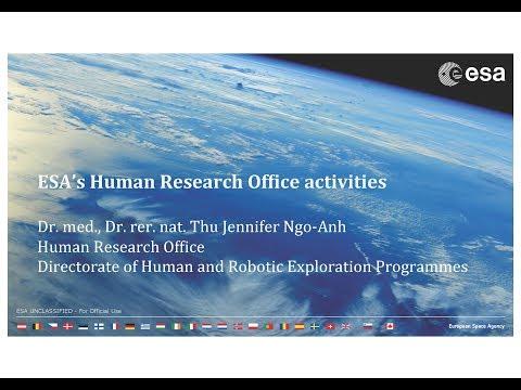 Jennifer Ngo-Anh - ESA's Human Research Programme (EPB-APECS webinar)