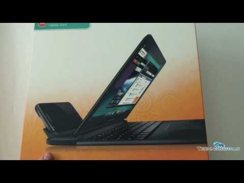 Motorola Atrix 4G: Laptop Dock Demo & Unboxing