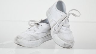 How-To Clean Canvas Shoes