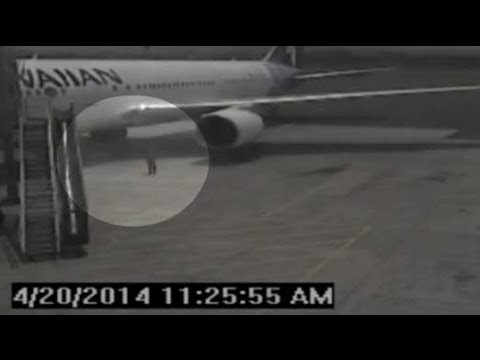 CCTV 'Proves' Teen Did Hide In Wheel Well For Five-And-A-Half Hour Flight