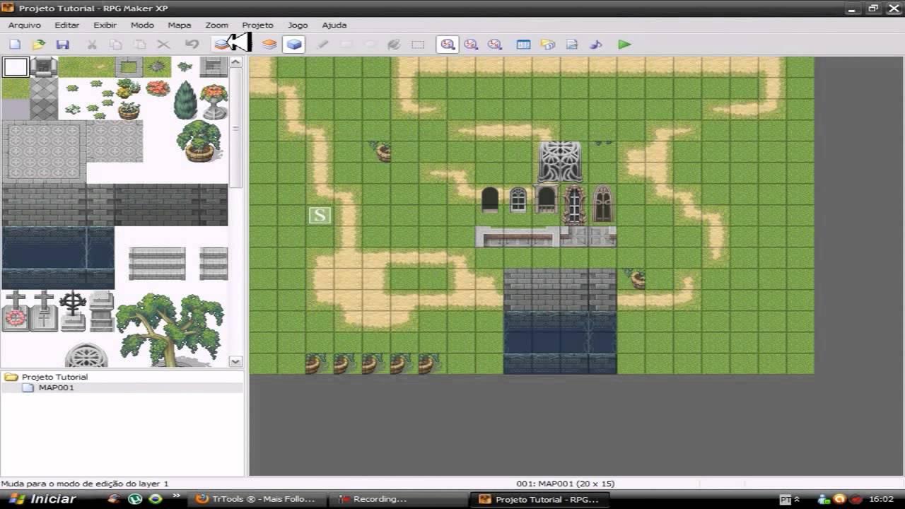 Como Criar Jogos Usando Rpg Maker XP Parte 1 - Indie Game